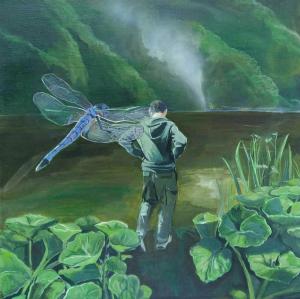 Napadnutie vážky